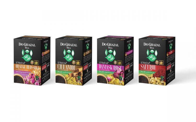 چای سیاه طعم دار محصول جدید دوغزال