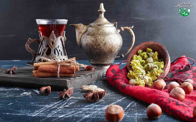 طبخ چای در هندوستان و تبت