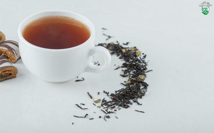 رنگدانه های چای